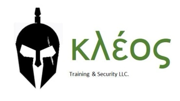 KLEOS Training & Security LLC.