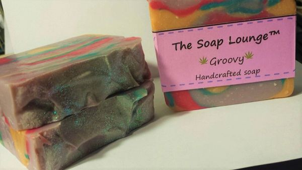 Groovy (Cannabis scented) Soap
