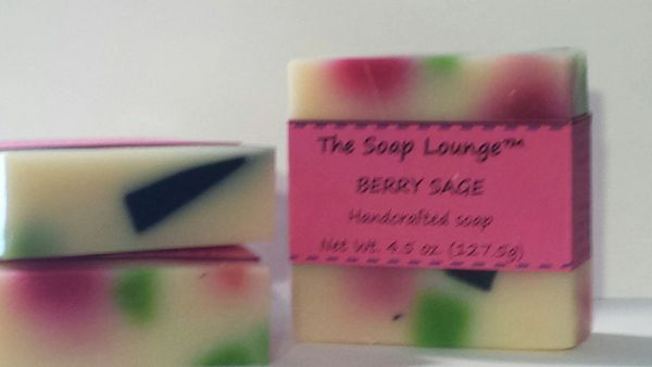 Berry Sage Soap