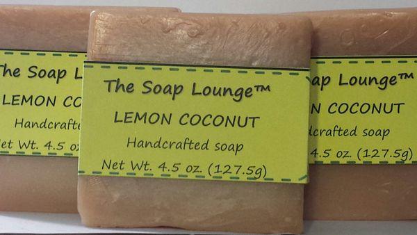 Lemon Coconut Soap