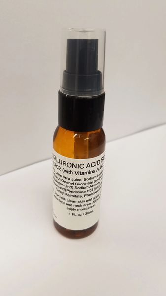 Hyaluronic Acid Serum (1 FL oz/ 30mL)