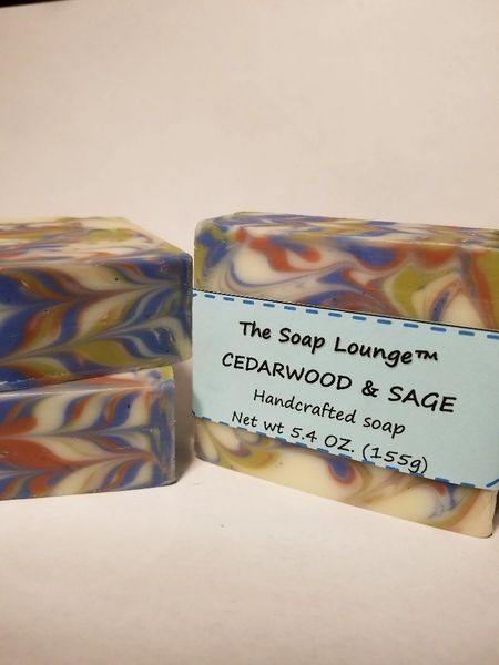 Cedarwood and Sage Soap