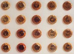 RQ3-0007; Citrine Rounds, 7mm, Treatment?