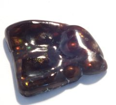 CAG4-0001;Fire Agate, N.America, Untreated