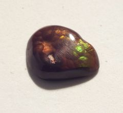 CAG4-0004; Fire Agate, N.America, Untreated
