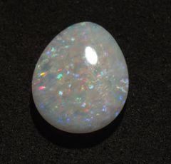 CO1-0003; Opal, White Base, Australia, Untreated
