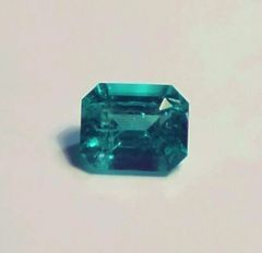 RB2-0024; Emerald, Afghanistan, Epo Resin Treated