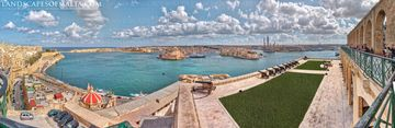 Valletta and the 3 cities - panoramic views of malta and gozo. Bormla Isla Birgu Kalkara Malta