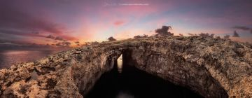 The coral lagoon at lahrax - Fine art malta - landscapes of malta by derren vella