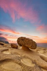 The Mushroom Rock of Gozo - Malta and Gozo Landscape prints by Derren Vella. Mushroom Rock