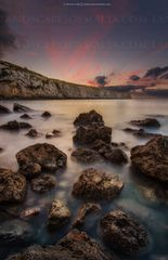 FOMM IR RIH BAY AT DUSK Malta Photography by derren vella Malta landscape and nature photography