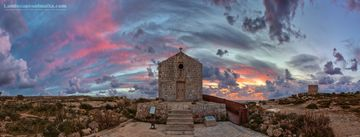 St mary magdalene chapel Dingli - Fine art Photography, Panoramas of malta and gozo by Derren Vella
