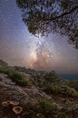 The milkyway from Dingli Cliffs - Starscapes of Malta & Gozo by Derren Vella