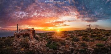 Qammieh radar station - Fine art Photography, Landscapes of malta and gozo by Derren Vella. Qammieh