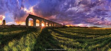L-akwadotti ta ghawdex -  Panoramas of malta and gozo by Derren Vella. Gozo aqueducts
