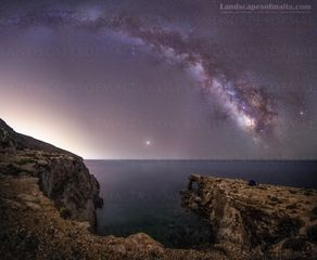 Milkyway malta - Fine art Photography, Landscapes of malta and gozo by Derren Vella. Ras il mignuna