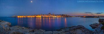 Valletta panoramic views -  Derren Vella landscapes of malta and Gozo