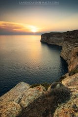 Ta Cenc cliffs in gozo - Landscapes of malta and gozo by Derren Vella
