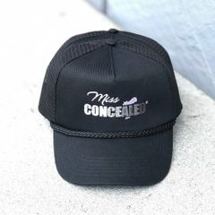 Miss Concealed Embroidered Baseball Cap