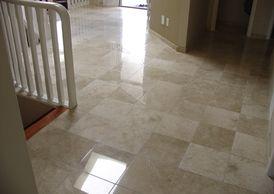 Marble polishing, travertine honing, limestone care. Leave your home clean, fresh, and healthy.