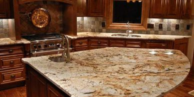 Granite cleaning, granite sealing, and recaulking. Cleaning services for clean, fresh, and healthy.