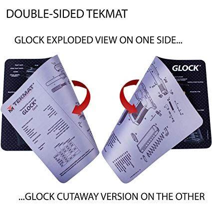 Glock Gen 4 Double-Sided TekMat Gun Cleaning Mat