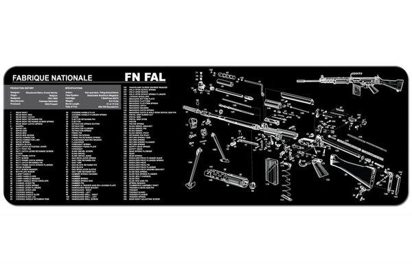FN FAL 7.62mm RIFLE TEKMAT
