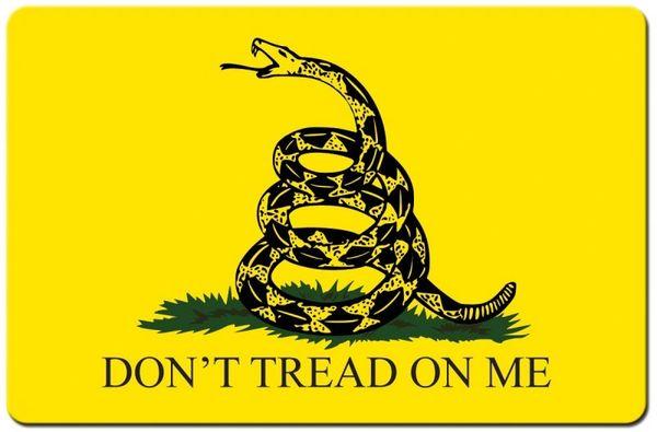 GADSEN FLAG AMERICAN REVOLUTION SYMBOL TEKMAT
