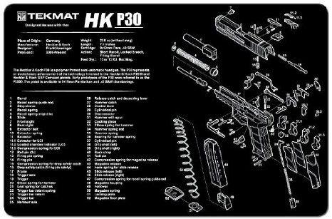 HK P30 PISTOL TEKMAT