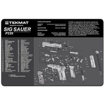 SIG SAUER P229 9mm PISTOL TEKMAT