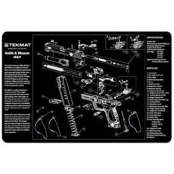 SMITH & WESSON M&P 9mm PISTOL TEKMAT