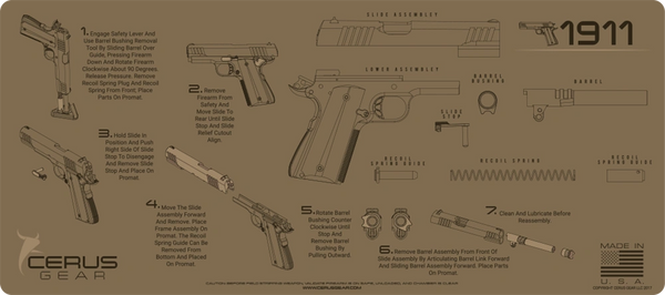 1911 INSTRUCTIONAL PROMAT by CERUS GEAR