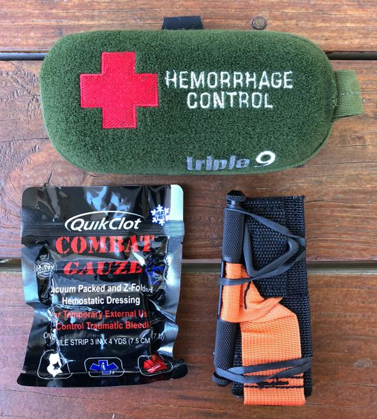 Micro Outdoor Trauma Kit (MOTK) Basic Load Out