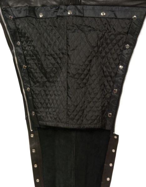 Leather Motorcycle Chaps | Motorcycle chaps, Leather men
