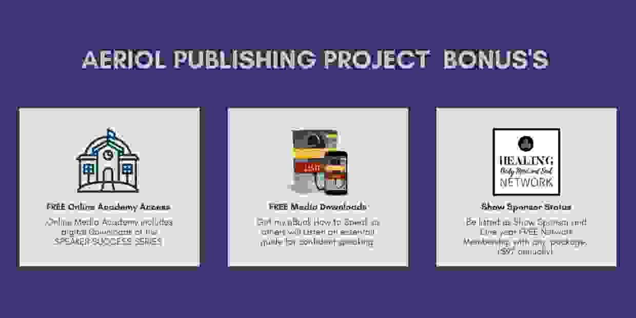 Best Selling Book Publishing Program bonus's