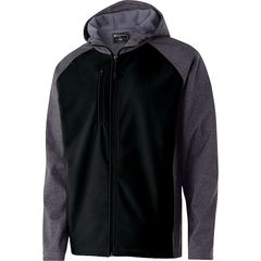 MDAO RAIDER HOODED SOFT SHELL JACKET WITH EMBROIDERED LOGO