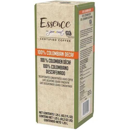 Essence from Java Coast, 100% Colombian Decaf Liquid Coffee, 1.25 L (One Box)
