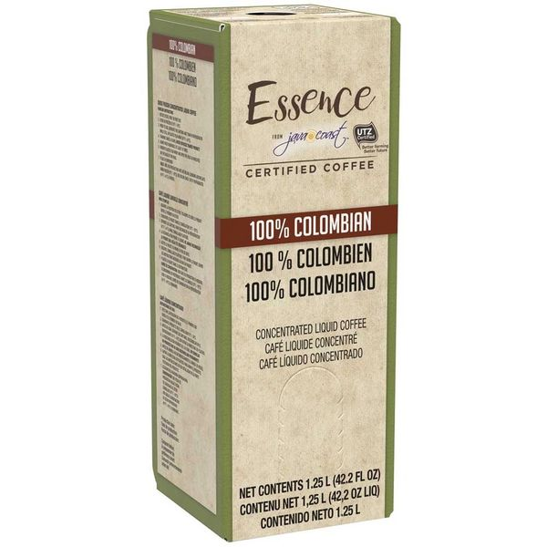 Essence from Java Coast, 100% Colombian Liquid Coffee, 1.25 L (One Box)
