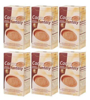 Douwe Egberts 2 Liter Cacao Fantasy (Six)
