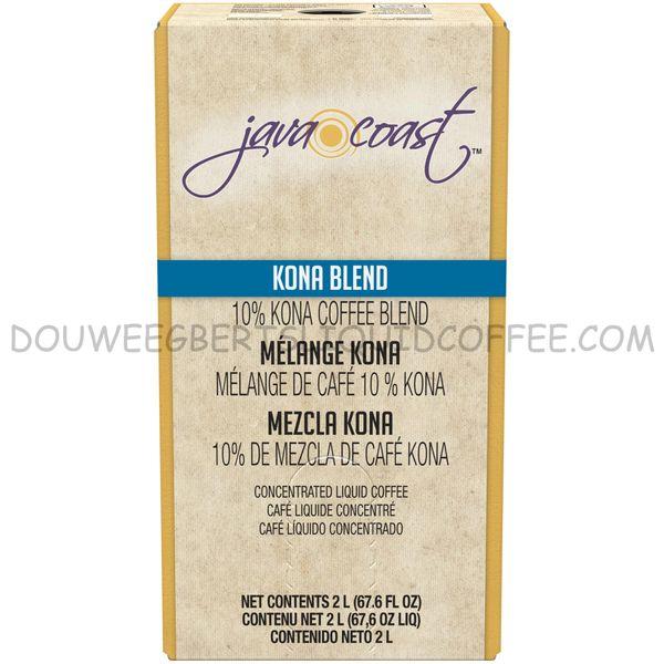Java Coast 2 Liters Kona Blend (One Box)