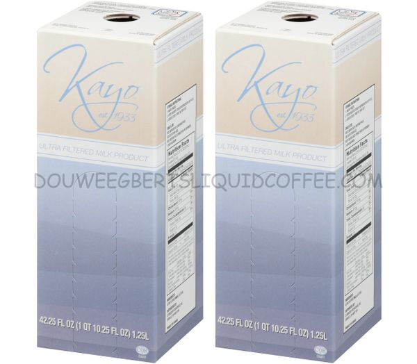 Douwe Egberts 1.25 Liter Cafi-Lait Milk Concentrate (Two Boxes)