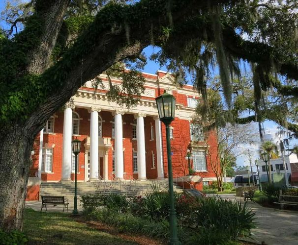 Hernando County Courthouse Downtown Brooksville, FL