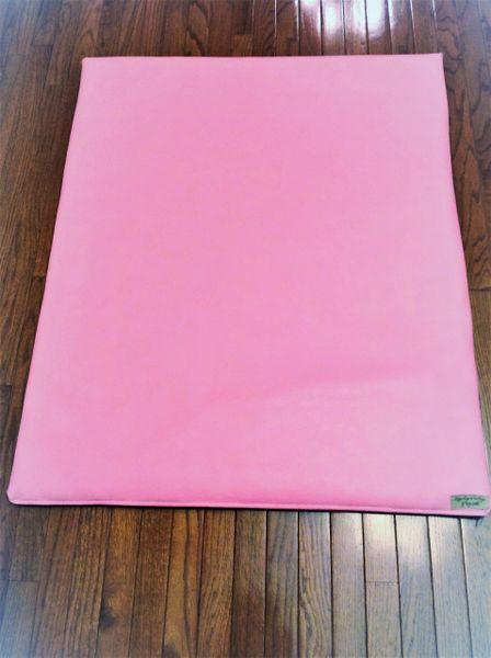 Mat - large - marine vinyl - pink