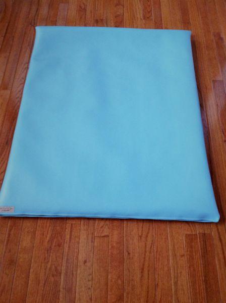 Mat - Large - Marine Vinyl- Lighter Baby blue
