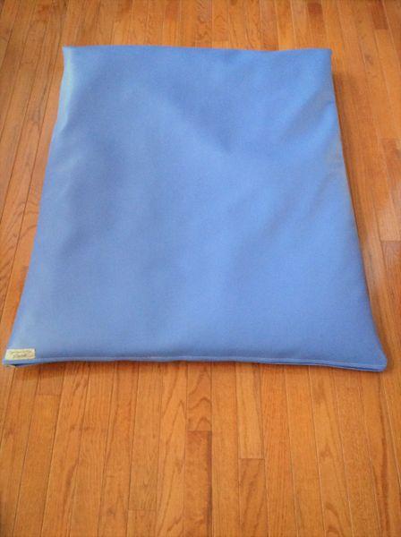 Mat - Large Marine vinyl mat a beautiful blue/purple color indoor/outdoor use