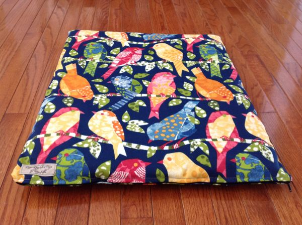 Small cat dog cushion cover with poly insert
