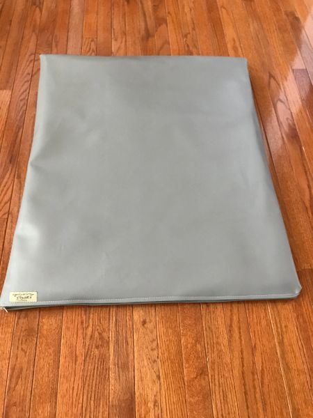 Mat - medium marine vinyl medium grey cushioned mat