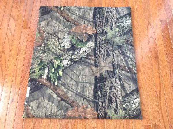 Cover - medium - Mat cover made from Mossy Oak Camo fabric