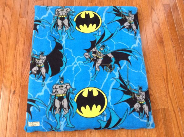 Cover - medium - Mat cover made from Disney Batman fleece fabric