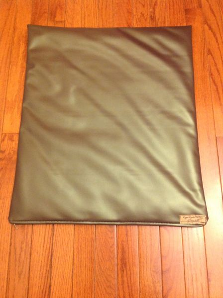 Mat - small designer vinyl gorgeous olive color soft & silky feel